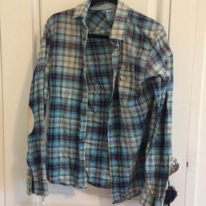 Light plaid shirt
